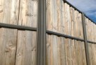 Auchenflower Lap and cap timber fencing 2